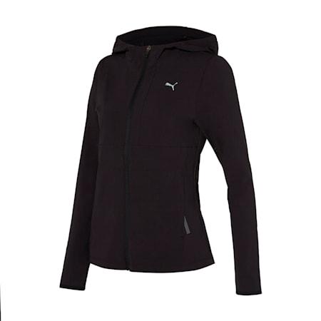 메가 업 우븐 트레이닝 자켓/Mega Up Woven Training JKT W, puma black, small-KOR