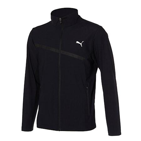 마하 트리코트 트레이닝 자켓, puma black, small-KOR