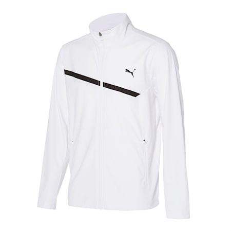 마하 트리코트 트레이닝 자켓, puma white, small-KOR