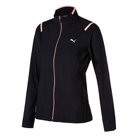 아이스 트리코트 트레이닝 자켓, puma black, small-KOR