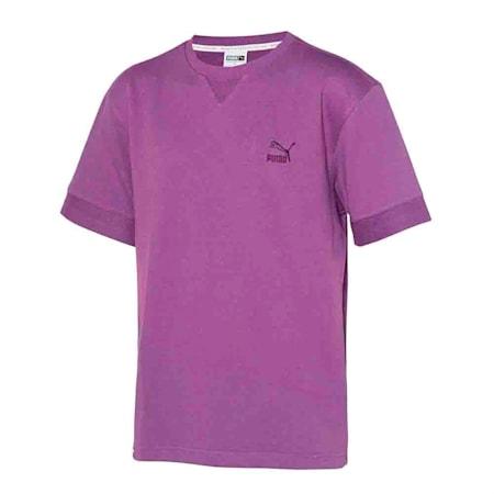 클레식 로고 크루 반팔 티셔츠/Classics Logo Crew Tee, chinese violet, small-KOR