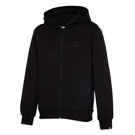 클래식 엠보 로고 FZ 자켓/Classics Emb Logo FZ Jacket, puma black, small-KOR