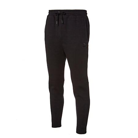 클래식 엠보 테퍼드 팬츠/Classics Emb Tappered Pants, puma black, small-KOR