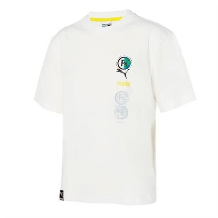 인터네셔널 로고 반팔 티셔츠/INT'L Logo Tee, snow white, small-KOR