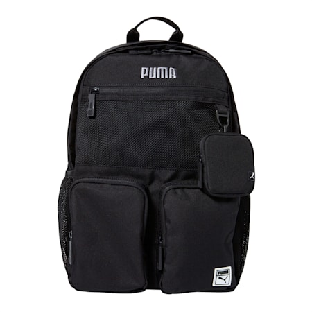 베이직 라운드 백팩/Basic round backpack, puma black, small-KOR