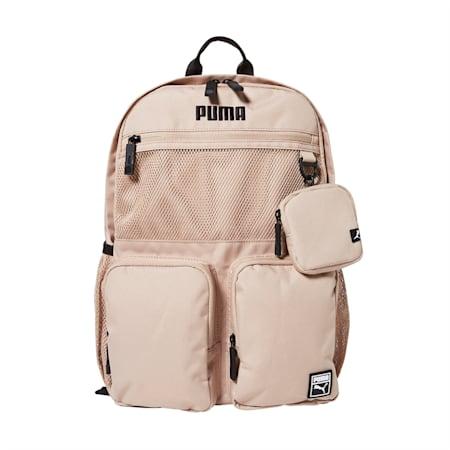 베이직 라운드 백팩/Basic round backpack, pale khaki, small-KOR