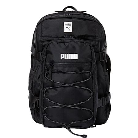슬링백 백팩, puma black, small-KOR