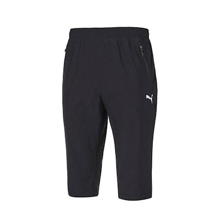 마하 캣 트리코트 3/4 팬츠/Mach Cat Tricot 3/4 Pants, puma black, small-KOR