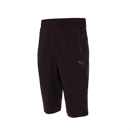 메가 업 우븐 3/4 팬츠/Mega up Woven 3/4 Pants, puma black, small-KOR