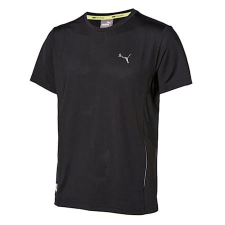 마일드 쿨 폴리 반팔 티셔츠/Mild Cool Poly Tee, puma black, small-KOR