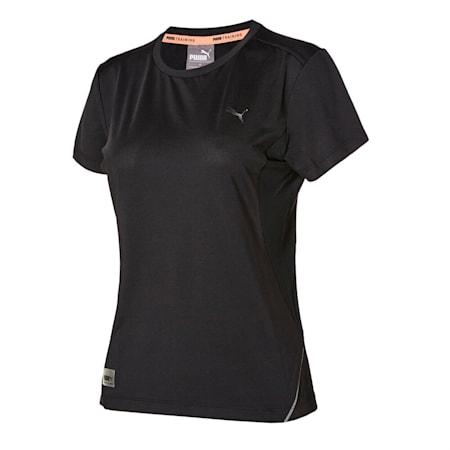 마일드 쿨 폴리 반팔 티셔츠/Mild Cool Poly Tee W, puma black, small-KOR