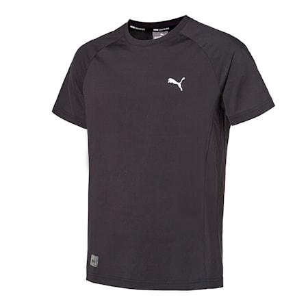 코어 트레이닝 나일론 반팔 티셔츠/Core Training Nylon Tee, puma black, small-KOR