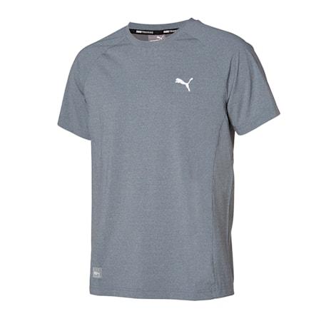 코어 트레이닝 나일론 반팔 티셔츠/Core Training Nylon Tee, medium heather grey, small-KOR
