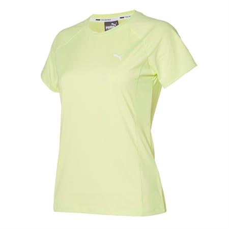 코어 트레이닝 나일론 반팔 티셔츠, soft fluo yellow, small-KOR