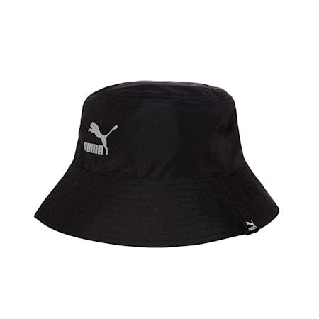 투웨이 버킷햇/2Way Bucket Hat, puma black, small-KOR