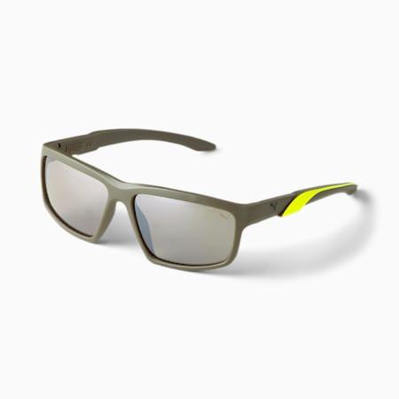 Gafas de sol Spark para hombre, VERDE-VERDE-MARRÓN, pequeño