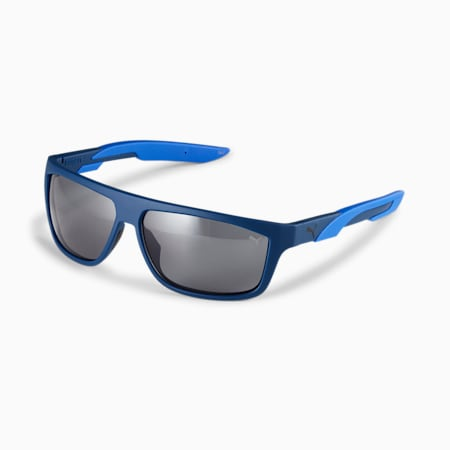 Gafas de sol Storm Huntpara hombre, AZUL-AZUL-AZUL, pequeño