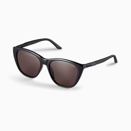 Gafas de sol con franja característica para mujer, NEGRO-NEGRO-NEGRO, pequeño