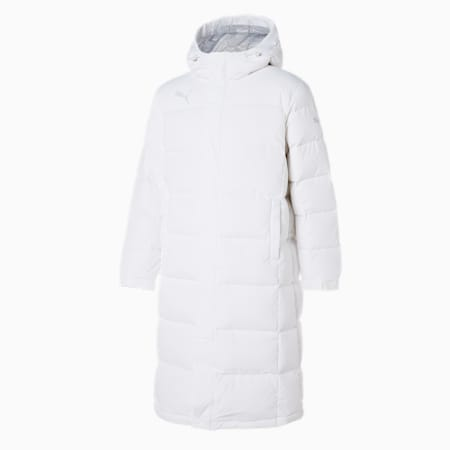 TS 롱 다운 자켓/TS Long Down Jacket, puma white, small-KOR