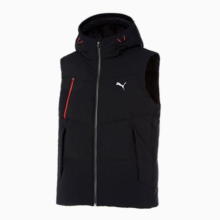 미트 X 트리콧 다운 베스트/Mid X-Tricot Down Vest, puma black, small-KOR