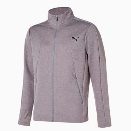 코어 니트 트레이닝 자켓/Core Knit Trainning JKT, medium grey heather, small-KOR