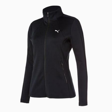 코어 니트 트레이닝 자켓 W/Core Knit Trainning JKT W, puma black, small-KOR
