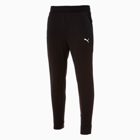 텍스처 니트 트레이닝 팬츠/Texture Knit Trainning PT, puma black, small-KOR