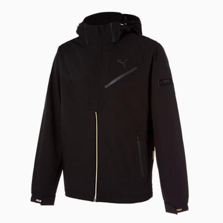 브이 골드 트레이닝 테크 자켓/V-Gold Training Tech Jacket, puma black, small-KOR