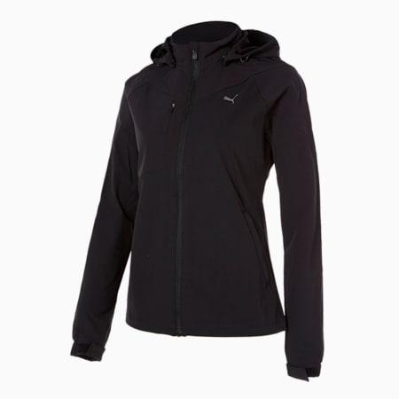코어 우븐 트레이닝 자켓 W/Core Woven Training JKT W, puma black, small-KOR