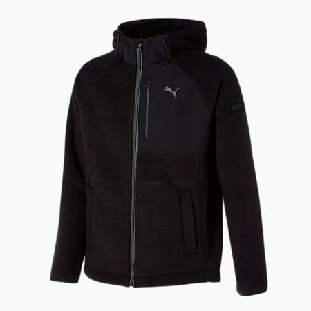 X 플리스 후드 B.D 자켓/X-Fleece Hoody B.D Jacket, puma black, small-KOR