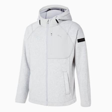 X 플리스 후드 B.D 자켓/X-Fleece Hoody B.D Jacket, light grey heather, small-KOR