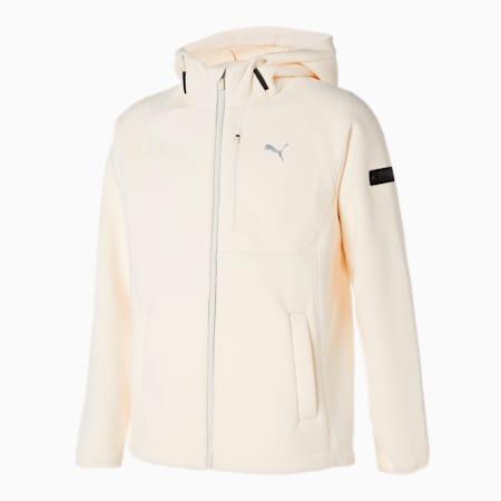 X 플리스 후드 B.D 자켓/X-Fleece Hoody B.D Jacket, ivory glow, small-KOR