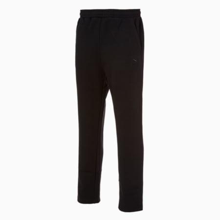 클래식스 엠브로이드 로고 팬츠 OP/Classics Emb Logo Pants OP, puma black, small-KOR