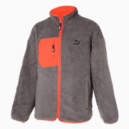 리버시블 쉐르파 자켓/Reversible Sherpa Jacket, steeple gray, small-KOR