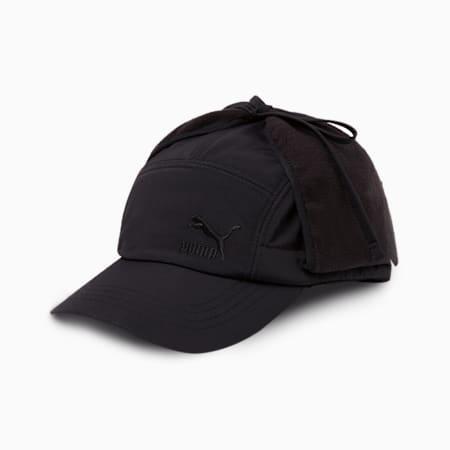 디테쳐블 도그 이어 캡/Detachable Dogear Cap, puma black, small-KOR