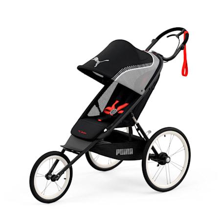 PUMA x CYBEX AVI One Box Stroller, Black - Red, small