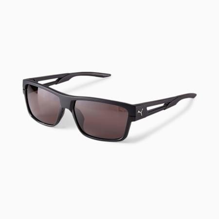 Gafas de sol PUMA Flash Ride para hombre, NEGRO, pequeño