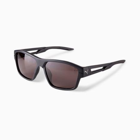 Gafas de sol PUMA Blizzard Flight para hombre, NEGRO, pequeño