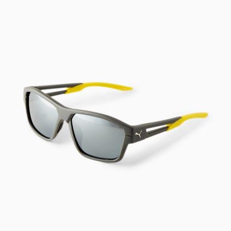 Gafas de sol PUMA Blizzard Flight para hombre, GRIS, pequeño