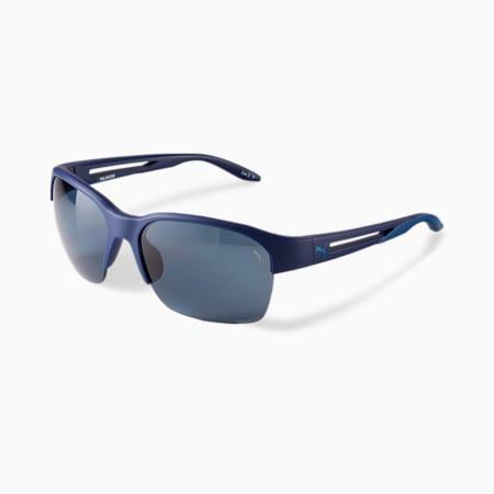 Gafas de sol PUMA Blizzard Flight 2 para hombre, AZUL, pequeño