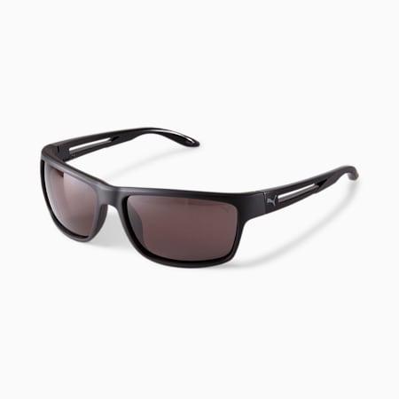 Gafas de sol PUMA Flash Ride 2 para hombre, NEGRO, pequeño