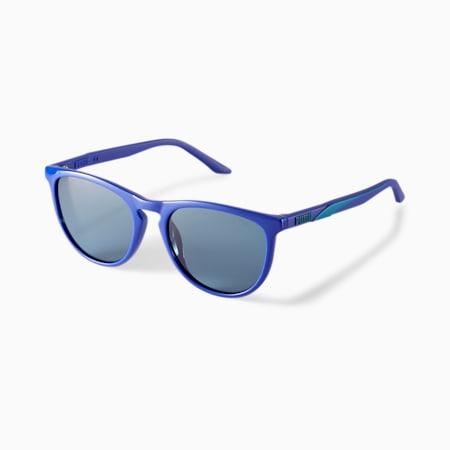 Damskie okulary przeciwsłoneczne PUMA Snappy 2, BLUE, small
