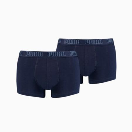 PUMA Basic Men's Trunks 2 pack, navy, small