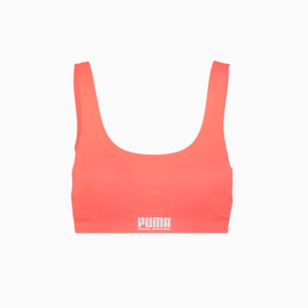 Women's Sporty Padded Top 1 pack, pink, small