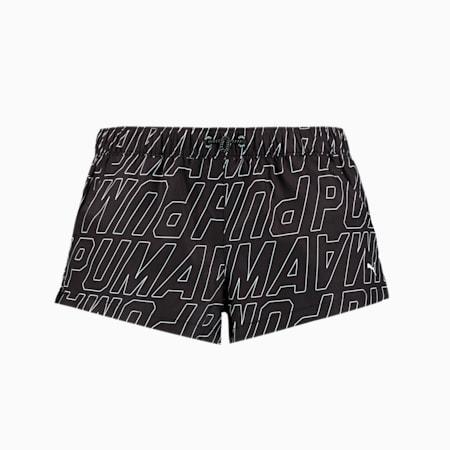 Swim Women's Printed Boardshorts, black combo, small-GBR