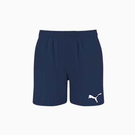 PUMA Swim Men's Mid Shorts, navy, small-GBR