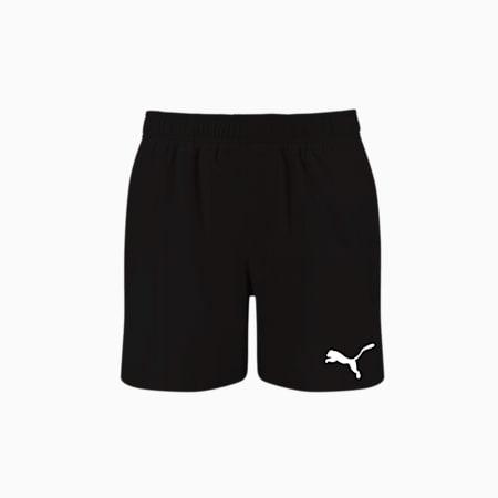 PUMA Swim Men's Mid Shorts, black, small-GBR