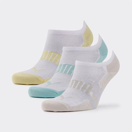 PUMA Unisex Sneaker Socks 3P, mid grey, small-SEA