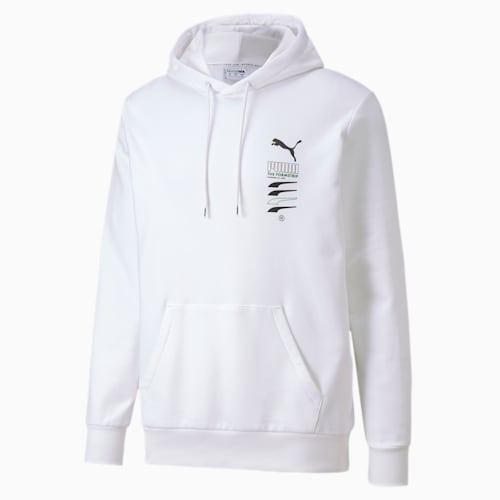 Puma Hoodie Classic Logo 2019 hellblau Damen