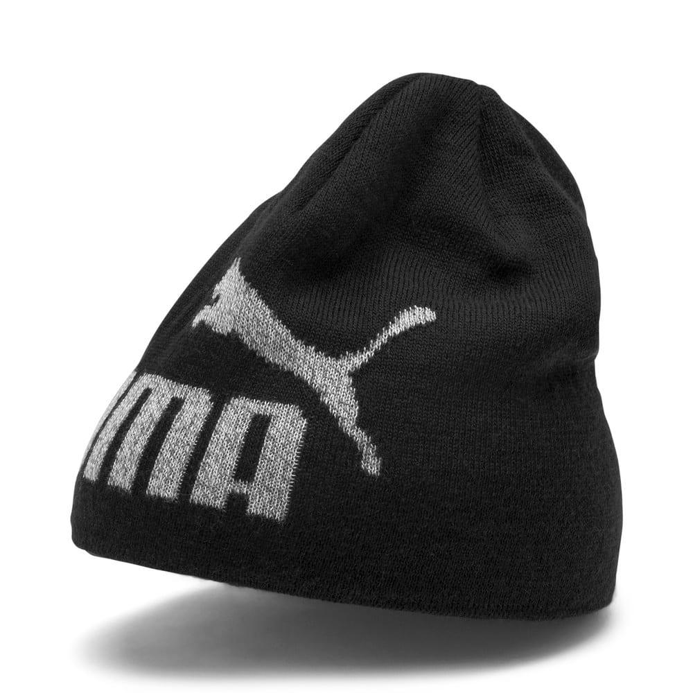Изображение Puma Детская шапка Ess Logo Beanie Jr #1